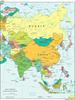 Political boundaries of Asia
